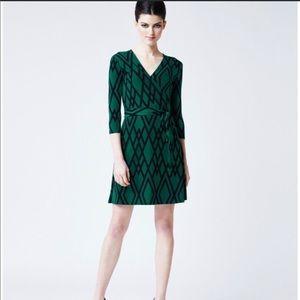 🌈Stitch Fix Leota SZ PXL Jersey Faux Wrap Dress